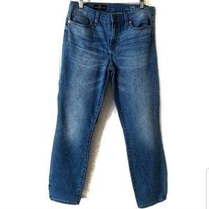 J. Crew Croped Reid Light Hickman wash jeans